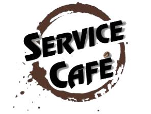 Logo Service Café PNG